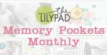 MPM - Memory Pockets Monthly at the Lilypad / Memory Pockets Monthly is a monthly pocket scrapbooking subscription at the Lilypad! On this board, you'll find digital & hybrid scrapbooking layouts & pocket pages by MPM subscribers at the Lilypad!