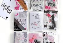 Inspiration :: Pocket Letters / Have you heard about this new trend in scrapbooking? Pocket Letters™ was created by Janette Lane. Pocket letters are a form of happy mail, where you fill a pocket page with cards or other designs and sent the whole page to someone who wants to swap with you!