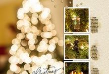 Inspiration :: Christmas Layouts / Inspiration for your layouts documenting your December & Christmas memories!