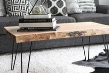 Interiors + Living spaces / Inspiration, DIY Ideen, Einrichten, Wohnen, Leben, schöne Möbel, Teppiche, Dekoration, Tapeten, Wandgestaltung, modern, Loft, Design, Home and Decor. living room, dining room, bathroom