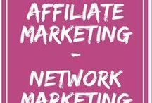 Affiliate Marketing - Network Marketing / Affiliate Marketing - Social Selling - Network Marketing - Online und Offline. Direct Sales business.