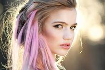 pink hair / by Rebecca Lynch