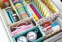 Organizing, Hacks, De-Clutter