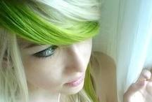 green hair / by Rebecca Lynch
