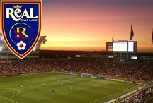 ReAL Salt Lake and USMNT / MLS team ReAL Salt Lake (RSL) and the United States Men's National Team (USMNT).  / by Cindi Cox