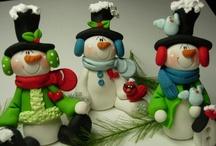 Snowmen,snowmen...& more snowmen / by Lori-Dawn Pollock