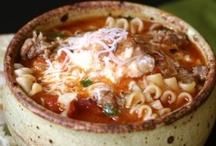 Yummy homemade soups / by Lori-Dawn Pollock