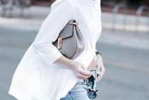MINIMALIST CHIC / Street style inspired by Parisian Chic fashion.