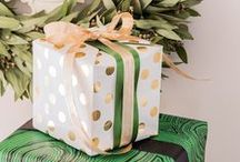 {gifts}: wrapping + packages / Because when it comes to some things a pretty outside makes it special.  / by Victoria Simpson