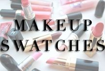 M A K E U P . S W A T C H E S / MAKEUP SWATCHES: makeup, beauty, nail polish / by Kara Michelle