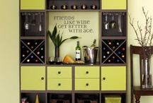 Wine Wall Ideas / by Rebecca Lynch