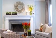Fireplace Ideas / by Rebecca Lynch