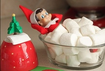 Holidays - Elf on the shelf / Elf on the shelf ideas and what ours has been up to.