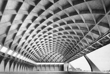 Pier Luigi Nervi / Pier Luigi Nervi was an Italian engineer who designed some of the most elegant and structurally expressive buildings of the 20th century. / by Arielle Schechter