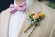 Wedding Boutonnieres & Bowties