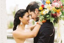 living fresh wedding flowers