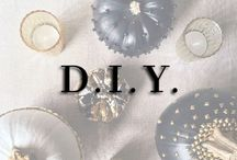{ D I Y } / DIY: decor + fashion projects, tutorials, how-to's / by Kara Michelle