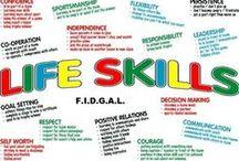 life skills / by Cheyenne Dawn Paler