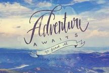 Adventure awaits! / Adventures in being a kid.