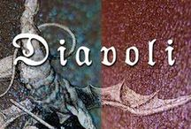 DIAVOLI - Eyeshadows inspired by Dante's Inferno - HALLOWEEN 2014! / by Aromaleigh www.aromaleighcosmetics.com