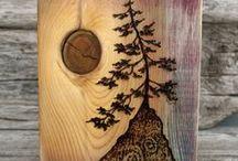 Home-Natural Wood idea