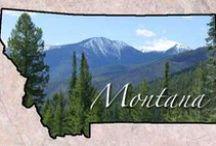 BIG SKY COUNTRY-MONTANA / Places I love in Montana! / by Liz Herceg-KELLY