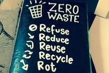Zero Waste / Sustainable / Reuse ✌