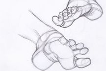 Feet   Drawing Tutorial