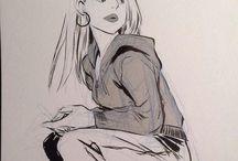 Mingjue Helen Chen   Drawing Artist