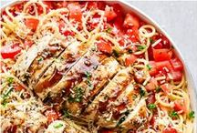 :: Healthy Dinners - Recipes for Real Food Main Dish Meals ::: / Dinner time! Making the main course - a protein rich meal - with real, unprocessed, unpackaged food. Less waste, better food.