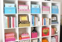 Home organization tips / Organization isn't always easy. Here are some tried and true tips, tricks and ideas to organize and simplify your home. Start with one drawer, one closet then one room. It's addicting once you begin!