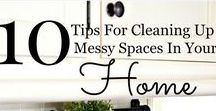 Cleaning Tips & Ideas / Keeping your home clean isn't always easy. Here is a great collection of ideas to help you tackle your home one room at a time!