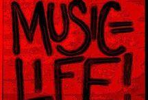 Music is Life / by Jana Klimkiewicz Hunter