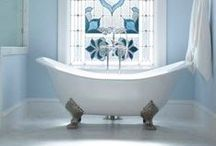 Home - Bathroom / Inspiration for relaxing country style bath and shower rooms.