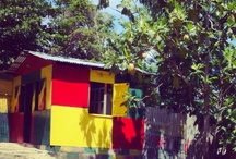 Artful Shacks in Jamaica {colorful} / by Samar Younes
