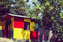 Artful Shacks in Jamaica {colorful}