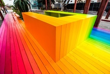 Color Blocking {color me happy} / by Samar Younes