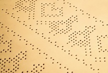 Perforated, dots {2D, 3 D} / by Samar Younes