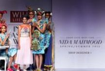 Nida Mahmood | Shop S/S'15 Collection / Celebrating the charm of Irani Cafes of Bombay, this line of dresses and cropped tops showcases digital prints on a bright and sunny palette.