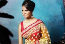 Sarees designed by Lara Dutta / Lara Dutta designs her first sari collection available exclusively with us! These hand crafted, heavily embellished saris will make you feel like a Bollywood star, so don't miss out and get ready for the paparazzi.Shop Lara's Designs>> http://exclusively.in/flash-sales/the-lara-dutta-collection.html / by Exclusively In
