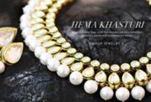 Hema Khasturi | Shop Jewelry / Stunning statement earrings to elevate your traditional look.