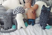 DIY : pillows and plush toys