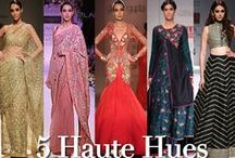5 Haute Hues For Your New Year Wardrobe! / Is it cerulean blue, candy pink, scarlet or tangerine that drives you away from the monotonous palettes of winter? This season, revolutionize your winter wardrobe with the top five hottest colors that ruled the fashion runways.