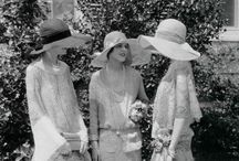 """Photo Shoot Inspiration: """"Everglades"""" / Photo ideas for a millinery shoot at the Everglades. 1920s/1930s style mostly in the gardens and house."""