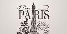 VINILOS DE PARÍS / Los mejores vinilos y fotomurales de la ciudad del amor: París. Francia nunca estuvo tan cerca como con esta decoración original.