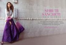 Shruti Sancheti | Shop Designer Wear / Cutting Edge: Stay ahead of the style curve with these contemporary silhouettes.