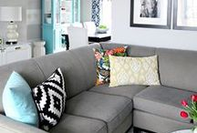 Home Decor- Living rooms / Home decor for cozy and comfy living rooms