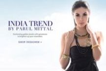India Trend by Parul Mittal | Designer Jewelry / Enchanting golden jewels with gemstones to brighten up your ensembles.
