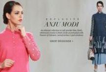 Anju Modi | Shop Designer Wear. / New Styles added! Pastel Picks  Spring/Summer '15