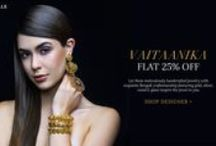 Vaitaanika  | Shop Jewelry / Jeweled Wonders Meticulously handcrafted gold jewelry pieces